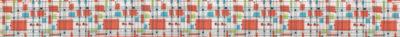 Vielfarbige, verschieden große Rechtecke, quer- bzw. aufgestellt, auf weißem Hintergrund mit zarter Gitterstruktur.