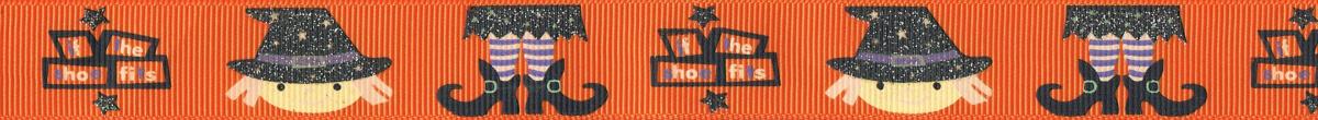 """Auf orangefarbenem HUntergrund: Fröhliche Köpfe mit Hüten, Beine mit gebogenen Schuhen. Schriftzug: """"If the shoes fits."""""""