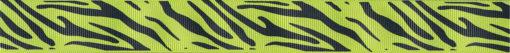 Schwarze Musterung auf grünem Untergrund, die an das Fell eines ozelot erinnert.