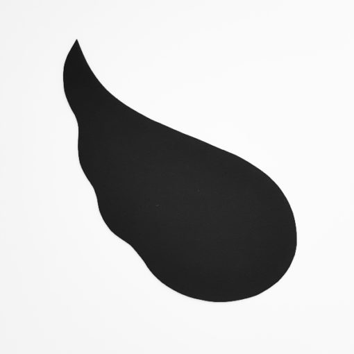Silhouette schwarzer Engelsflügel