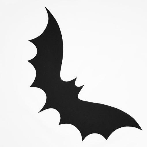 Silhouette schwarze Fledermaus