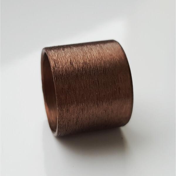Bronzefarben eloxierte Aluminiumrolle