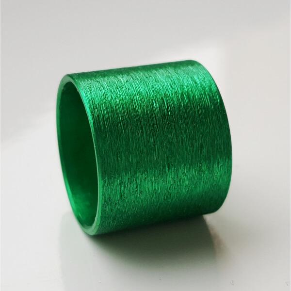 Grün eloxierte Aluminiumrolle