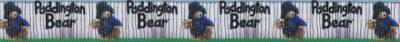 "Abwechselnd die Abbildung des Paddington Bärs und die Beschriftung ""Paddington Bear""."