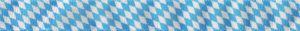 Ripsband im typischen blau-weißen Rautenmuster.