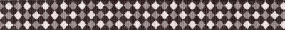 Schrägkarierte Musterung in grau-weiß-schwarz.