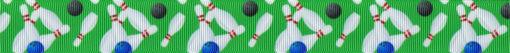 Folgendes Motiv in Wiederholung: 4 Kegeln, eine blaue und eine schwarze Kugel, alles bunt durcheinander dargestellt.