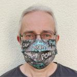maske wow von vorne